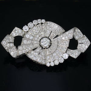 Antique Art Deco jewelry above $10000
