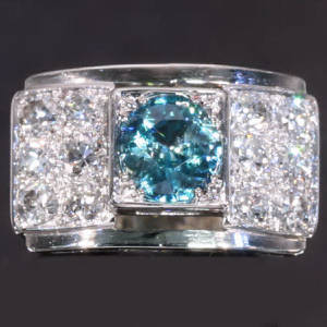 Antique jewelry with color blue up to $5,000
