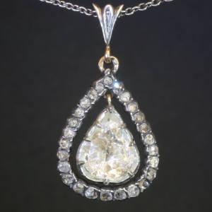 Antique Victorian pendants between $5000 and $10000