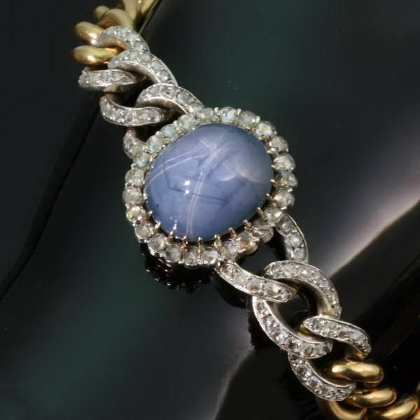 Antique jewelry with color blue $15,000 +