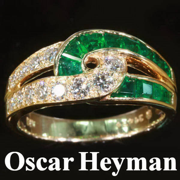 Antique jewelry with color green up to $7,000