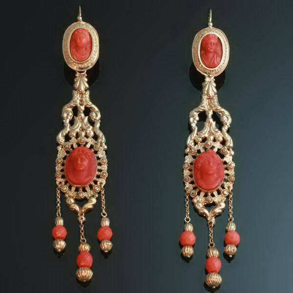 Antique jewelry with color red up to $7,000