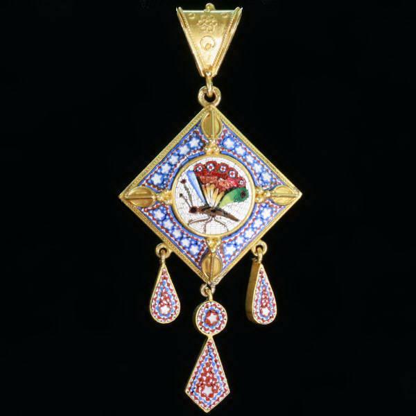Antique Victorian pendants between $1500 and $5000
