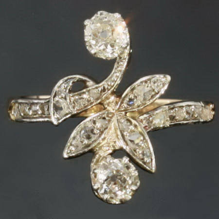 Antique Victorian rings between $500 and $1500