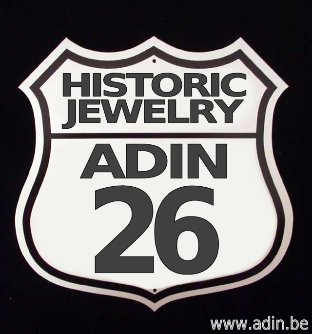 The entire antique historic jewelry collection of Adin Antique Jewelry, Antwerp, Belgium