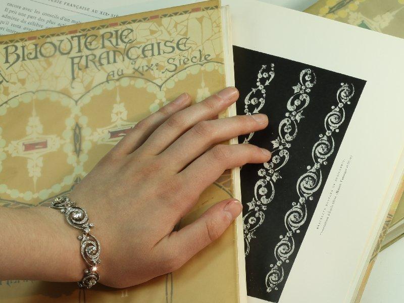 Belle Epoque diamond bracelet by Emile Olive