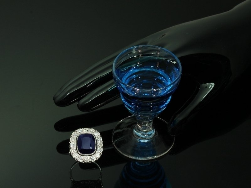 Diamond and ruby Art Deco bar brooch