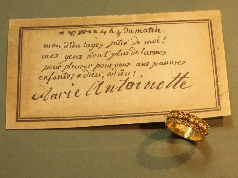 Antique gold ring wedding band Amsterdam 1755