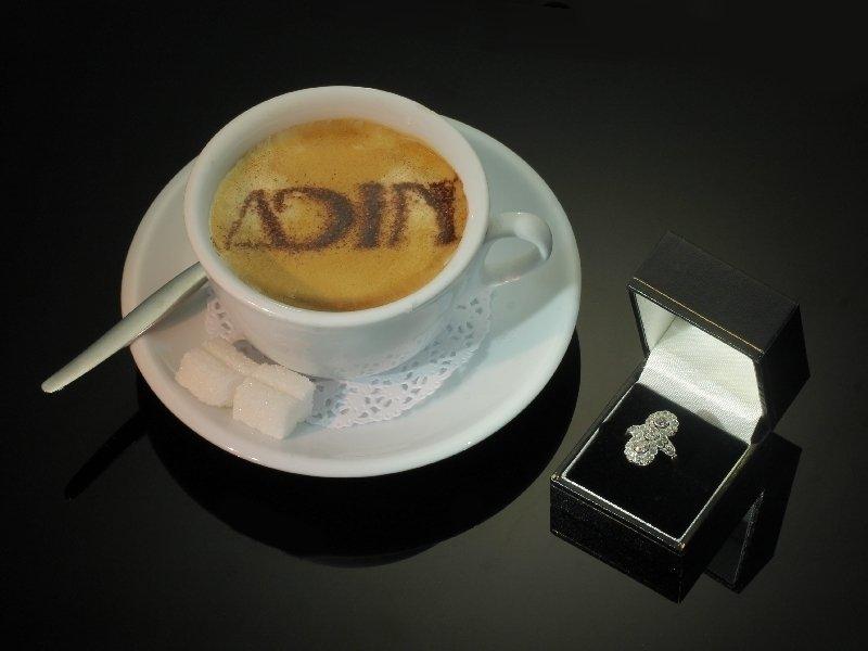 Art Deco Belle Epoque diamond engagement ring