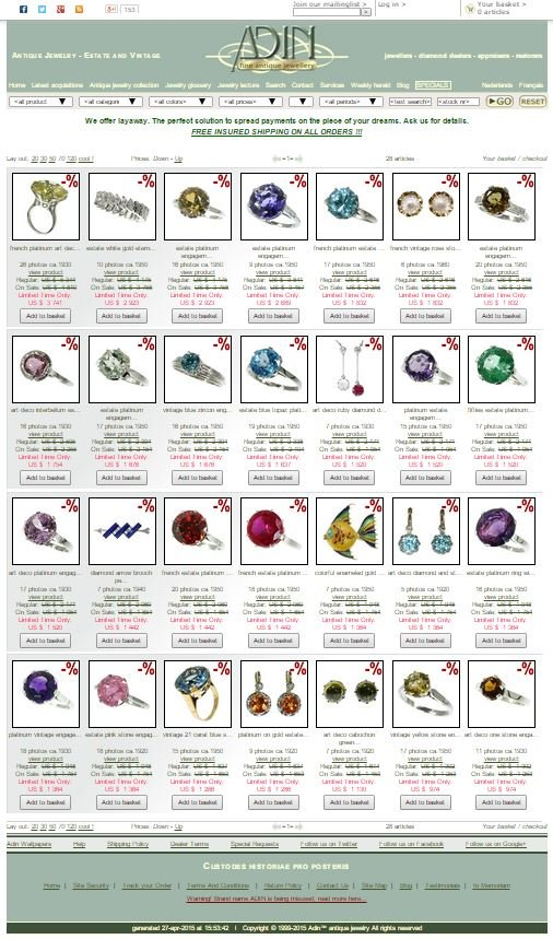 extra discounted vintage jewelry