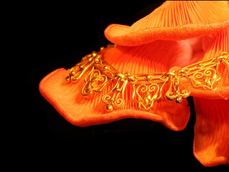 Click the picture to get to see this Victorian gold bow necklace.