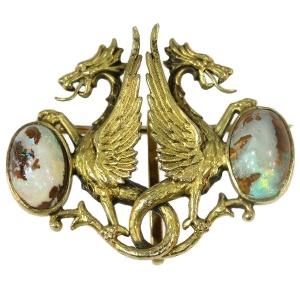 Mythologic antique jewelry