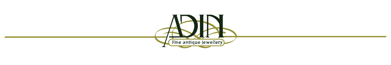 adin fine antique jewellery logo